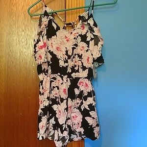 Small Floral romper
